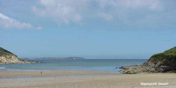 Maenporth Beach, Falmouth, Cornwall